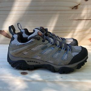 Merrell Moad 2 Dusty Olive Waterproof Women's Sz 5